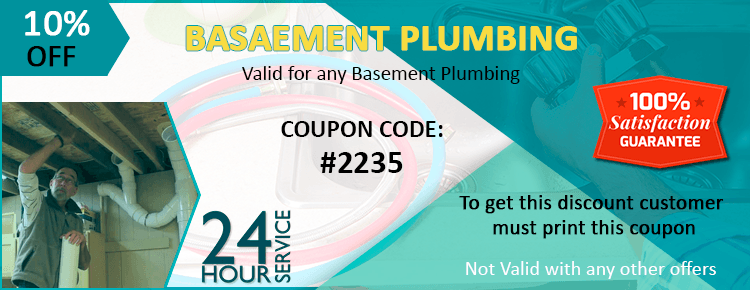 Basement Plumbing Coupon